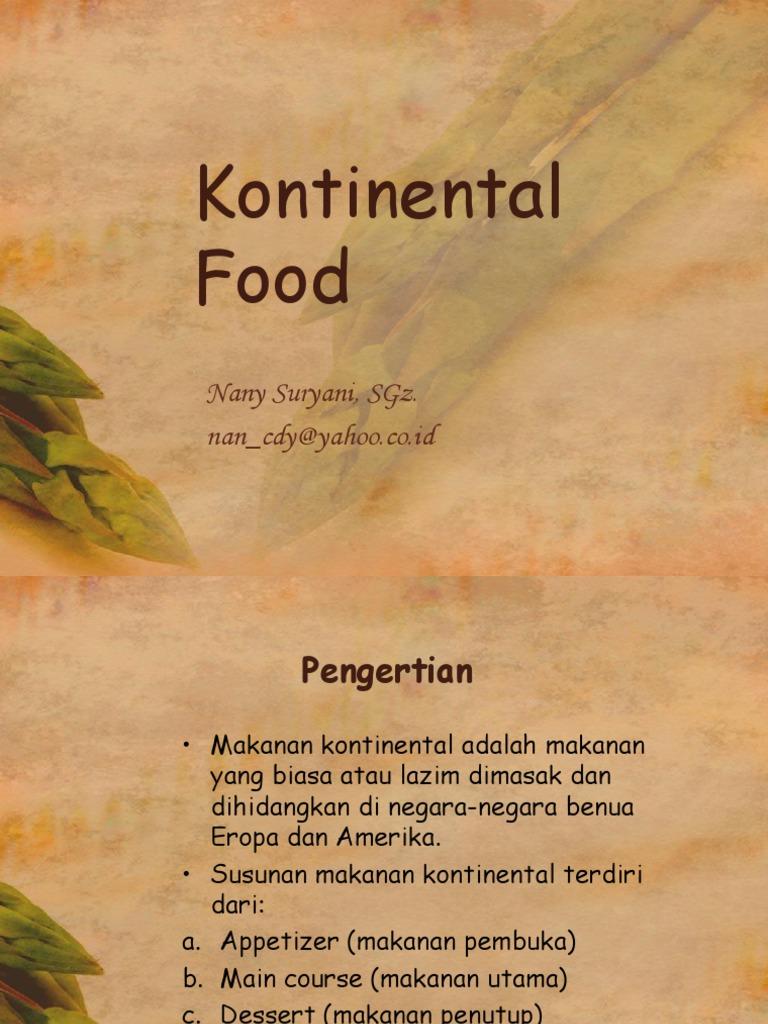 Kontinental Food