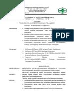 7.10.1.1 Sk Tentang Penetapan Penanggung Jawab Dalam Pemulangan Pasien