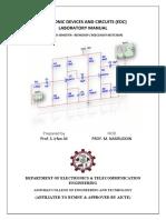 Edc Lab Manual Updated