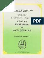 Kulalı Mustafa Nuzulî - Nuzulî Divanı
