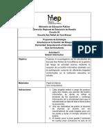 Actividad 5. Boletín Informativo