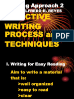 Learning Approach 2 Effective Writing