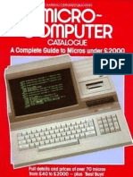 Micro-computer Catalogue 1984