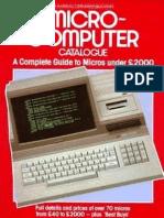 Micro-computer Catalogue 1984