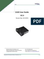 G102 User GuideV2.3-Mobicom Telematics