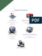 Computer Skills Checklist Final