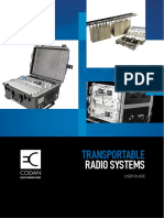 Transportable Radio Systems User Guide
