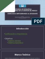 Propuesta de Estrategia Gestión de Riesgos Sismisidad_ Escuela San Rafael de Vara Blanca