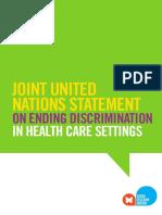 Ending Discrimination Healthcare Settings En