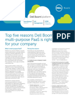 top reasons for Dell Boomi