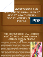 Top 100 Live Singers in usa - jeffrey bewley, about jeffrey bewley, jeffrey bewley profile