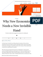 Why New Economics Needs a New Invisible Hand - Evonomics