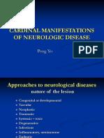 CARDINAL MANIFESTATIONS OF NEUROLOGIC DISEASE.ppt