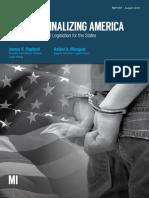 Overcriminalizing America