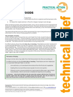 Drying of Foods--Practical Action Technical Brief