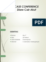 Case Conference Diare Cair Akut