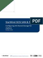 StarWind HA VSphere v6