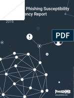 PhishMe Enterprise Phishing Susceptibility and Resiliency Report 2016