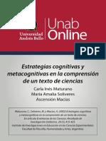 ESTRATEGIAS COGNITIVAS UNIVERSIDAD ANDRES BELLO