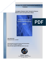 Economic Analysis for Hv Dc Transmission System in Pakistan