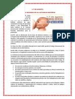 1 al 7 de agosto, Semana muldial de la lactiancia.docx