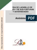 La vida de Lazarillo de Tormes.pdf