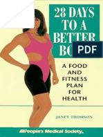 28 Days to a Better Body, A Food and Fitness Plan for Health [Janet_Thomson] 1996.epub