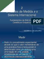 FMCI_Cap 2 Unidades de Medida e o SI