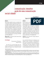 Artigo Ecologia Da Comunicação