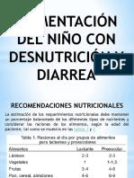 Alimentación Del Niño Con Desnutrición y Diarrea