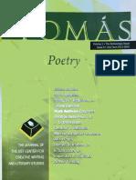 Poems by Rodrigo Dela Pena, Jr. in the Journal Tomas