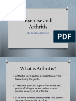 exercise and arthritis