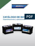 ACDELCO Catalogos Pdfcat Baterias