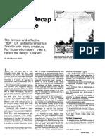 Kraus Flat Top QST 1982 Junio Recap
