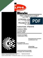 Manual Fiat Ducato 2.2