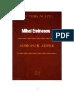 Mihai Eminescu Nevropatii Atipice Aspecte de Patologie Informationala.