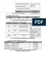 Informe Diario de Monitoreo Regional AM 08-08-2018