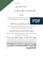 K Tafsir Surat Al Faatiha