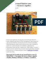 Circuito Pré tonal Estéreo com TDA1524A.docx