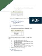 SAS Base Programming Practice Exam V9 Questions