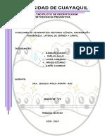 Auxiliares de Diagnostico en Ortodoncia