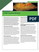 Pds Staad-foundation-Advanced Ltr en Lr