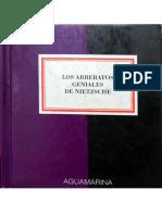 Los Arrebatos Geniales de Nietzsche 1994 Aguamarina