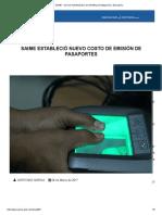 SAIME - Servicio Administrativo de Identificación Migración y Extranjería