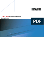 User Manual Lenovo ThinkVision L2251X
