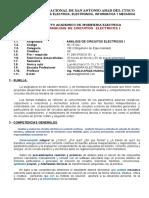 SILA CirElec I 2018 Competencias