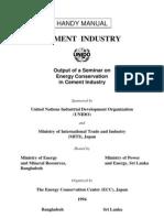 Energy Efficiency in Japan Cement Industry