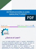 Introducción a Lean Manufacturing