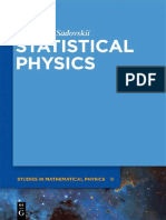 (De Gruyter Studies in Mathematical Physics 18) Michael V. Sadovskii-Statistical Physics-Walter de Gruyter (2012).pdf