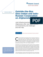 Outside-the-Box Sino-Indian and Indo-Russian Cooperation on Afghanistan